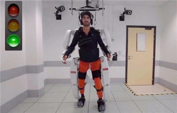 法国一大学正研究精神控制外骨骼,可以帮助瘫痪的人再次行走