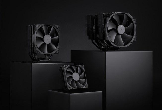 猫头鹰发布全黑配色散热器